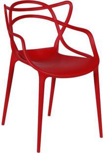 Cadeira Solna- Vermelha- 83,5X54X43Cm- Or Designor Design