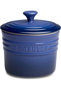 Porta Condimentos De Cerâmica Le Creuset Azul Cobalto 800 Ml - 17556