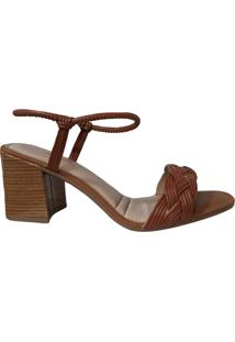 Sandália Salto Grosso Dakota Feminina Z8712