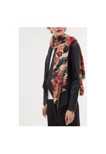 Cachecol Estampa Tie Dye Floral | Accessories | Multicores | U