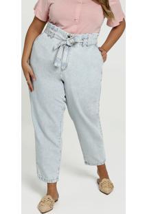 Calça Feminina Jeans Pantacourt Plus Size Marisa