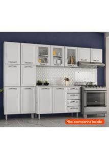 Cozinha Compacta Premium Iii 11 Pt Branca