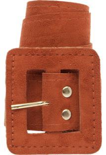 210f01dfecca9 R  39,99. Dafiti Cinto Dafiti Accessories Acamurçado Caramelo