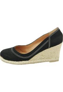 Sapato Cristhi Shoes Cunha Corda Preta