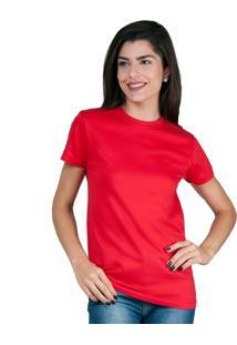 Camiseta Part.B T-Shirt Algodão Vermelha Tee