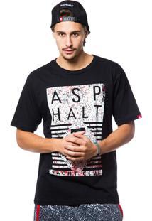 Camiseta Asphalt Rust Rec Lock Up Masculina - Masculino