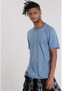 Camiseta Básica Botonê Azul