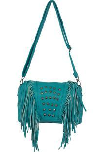 Bolsa Aphrodite By Elizabeth Franja Com Taxinhas Moderna Azul