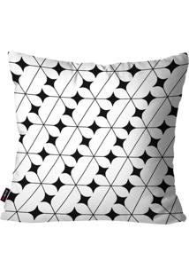 Capa De Almofada Decorativa Avulsa Branco Stars 45X45Cm Pump Up - Branco - Dafiti