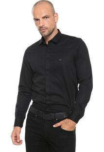 Camisa Aramis Slim Night Preta