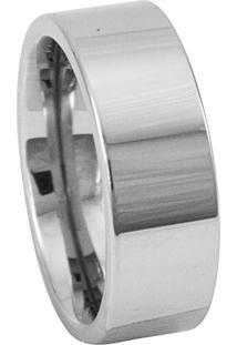 Aliança De Tungstênio New Tungsten Namoro Prata