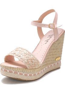 Sandália Sb Shoes Anabela Ref.3227 - Tricae