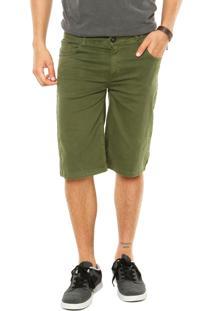 Bermuda Jeans Volcom 2X4 Verde