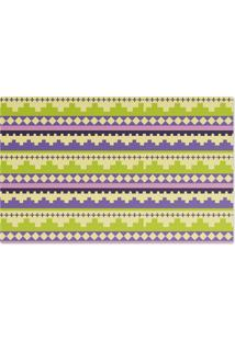 Jogo Americano Nerderia Textura Crochet Verde