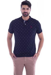 0df95a8200 ... Camisa Polo Live Marine Preta 1081-02 - G