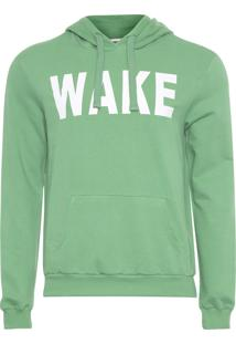 Blusa Masculina Moletom Color Sports - Verde