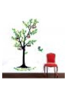 Adesivo De Parede Árvore Da Família 2 - M 152X80Cm