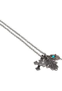 Colar Key Design - Atman - Masculino-Azul