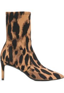 Stuart Weitzman Ankle Boot Animal Print - Leopard
