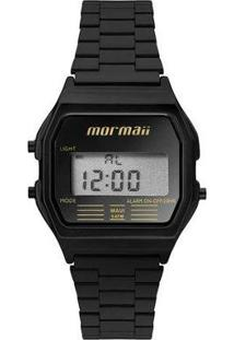 ... Relógio Mormaii Feminino Retro Mojh02Au 4D - Feminino-Preto 8d9f9bbd00