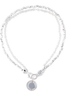 Astley Clarke Pulseira De Prata De Lei Com Diamantes - Metálico