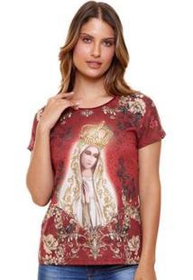 Blusa Nossa Senhora De Fátima Fs5096 Ágape Feminina - Feminino