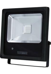 Refletor Led Rgb 10W Taschibra Preto