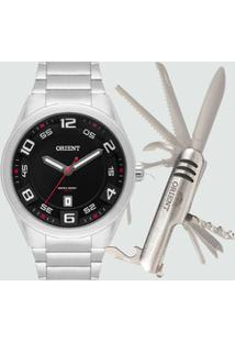 Kit Relógio Masculino Orient Mbss1298 K269P2Sx