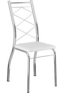 Kit 2 Cadeiras 1710 Napa Móveis Carraro Branco