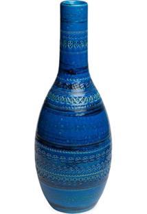Bitossi Ceramiche Vaso Bottiglia Vase - Azul