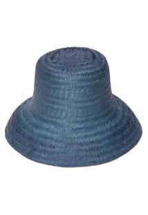 Chapéu Feminino Mar - Azul