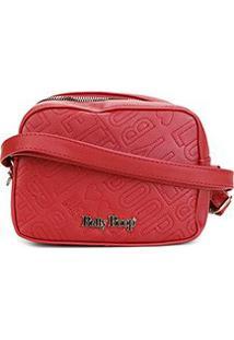 Bolsa Betty Boop Mini Bag Transversal Feminina - Feminino-Vermelho
