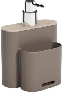 Dispenser Flat Ii Bege 500 Ml