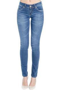 Calça Jeans Skinny Katy Destonada Pespontos Aparentes Colcci