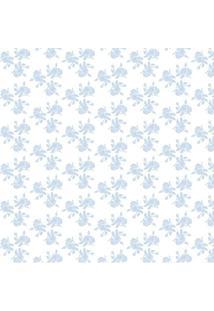 Papel De Parede Adesivo Botões De Rosa (0,58M X 2,50M)