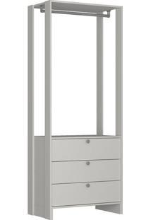Guarda-Roupa Closet Modulado Yes 3 Gv Branco