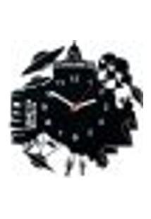 Relógio De Parede Decorativo - Modelo Ovni Conspiração