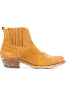 Golden Goose Deluxe Brand Crosby Ankle Boots - Marrom