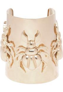 Bracelete Três Besouros Ouro Amarelo Bianca Bertoni - Dourado