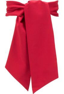 Atu Body Couture Headband Com Amarração - Vermelho