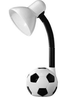 Luminária De Mesa Taschibra Tlm 5055 Kids E27 Articulável Branca
