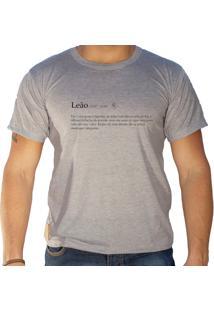 Camiseta Sandro Clothing Signo Leão Cinza
