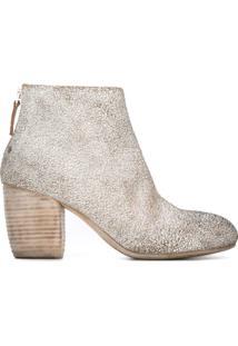 Marsèll Ankle Boot De Couro - Branco