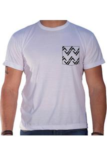 Camiseta Masculina Sandro Clothing Rhys Branca