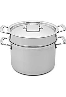 Espagueteira 3-Ply Aço Inox 24 Cm Le Creuset