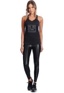 Regata Bonna Forma Fitness Silk - Feminino