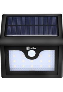 Luminária Solar De Parede Led Sensor Presença Helius Hlf320
