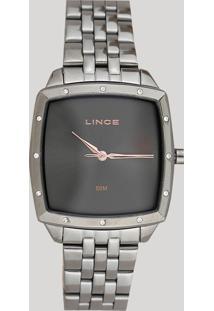 Relógio Analógico Lince Feminino - Lqy620L G1Gx Chumbo - Único