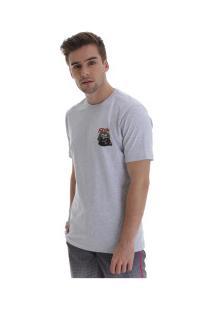 Camiseta Fatal Estampada 20332 - Masculina - Cinza Claro
