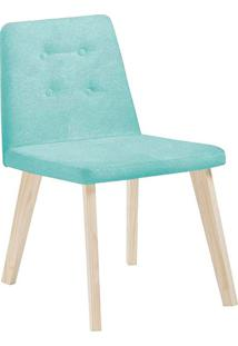 Cadeira Caqui F57-1 Lona – Daf Mobiliário - Verde Agua